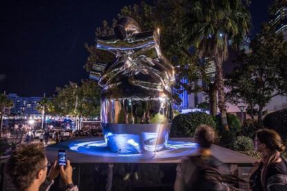 IBM's Heart of the City sculpture. Photo credit: IBM.