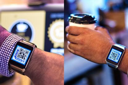 Rewardle supports the Samsung Gear Live and soon other Android smartwatches. Credit: Rewardle