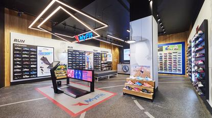 One of Athlete's Foot's new-look stores