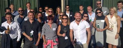 Some of the 30 Australian professionals chosen for the inaugural Marketing Academy Leaders program