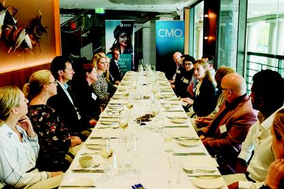 Guests at the CMO/Sitecore/Avanade roundtable leg in Sydney