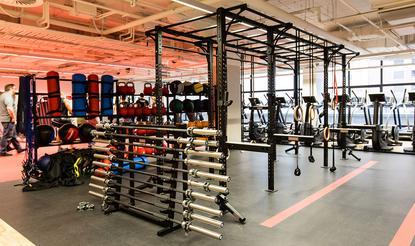 Fitness First gym in Flinders Street, Melbourne