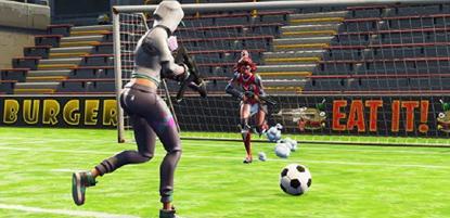 The A-League in Fortnite