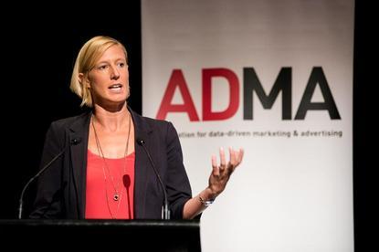 ADMA CEO, Jodie Sangster