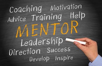 Many successful people credit a mentor for helping them on their road to success.