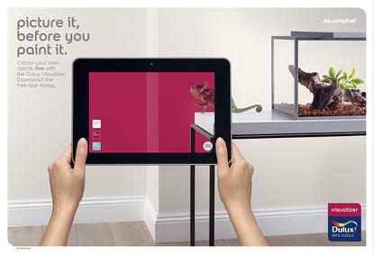 AkzoNobel visualizer augmented reality mobile app