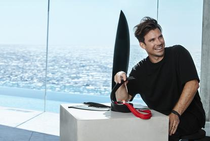 Australian Designer Hayden Cox is set to be one of the first local designers to partner with Westpac on the new wearable range
