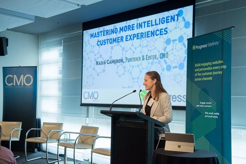 In Pictures: Mastering more intelligence customer experiences breakfast