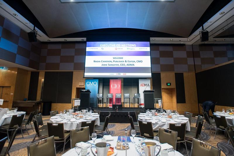 In pictures: CMO/CIO/ADMA Executive Connections breakfast in Sydney