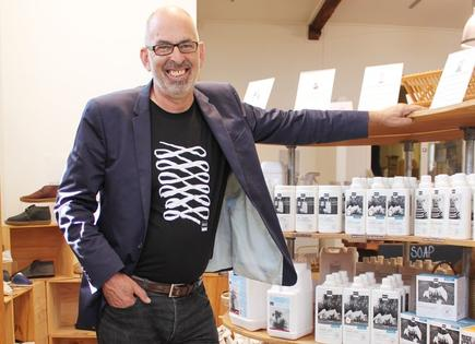 ecostore's CEO and co-founder, Malcolm Rands, says customers value the company's transparent and sustainable supply chain