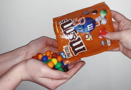 The new M&M Pretzels