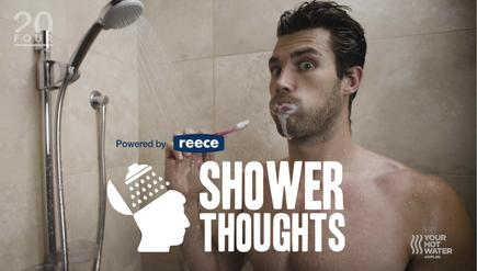 Reece's 'Shower Thoughts' campaign drew more social engagement and site traction than anticipated