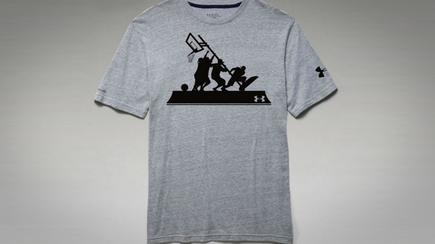 The offensive Under Armour t-shirt