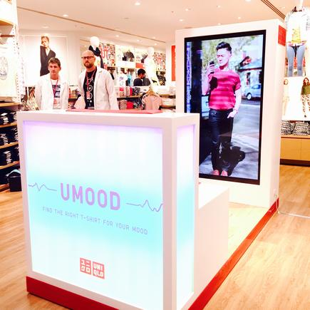 Comedian Ben Law appearing as the face of UNIQLO's new UMood campaign