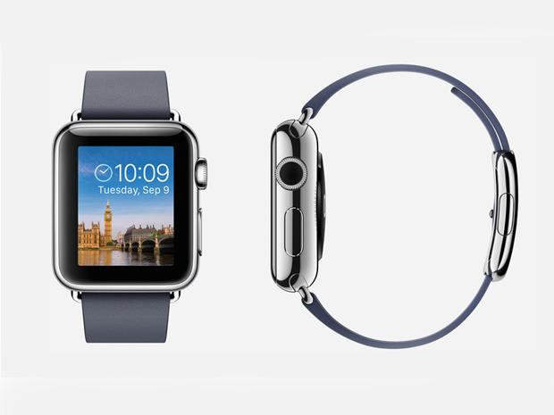 """Apple Watch: No wrist-based wearable has received as much attention as the forthcoming Apple Watch. TIME magazine recently proclaimed it one of the best 25 inventions of 2014 because """"it wholly reimagines the computer for the wrist, using a novel interface that combines a touchscreen and physical buttons."""" Apple's recently released WatchKit for developers provides a rough idea of what Watch apps will be like, including a """"glances"""" feature (for short bits of info) and """"actionable notifications"""" that let users """"take action right from their wrists."""" Big questions remain, though. Exactly when will the Watch be released? Apple says """"early 2015;"""" other rumors suggest """"spring."""" Just how much will those fancy deluxe models cost? Some reports say as much as $US1200, though low-end models should start at $US350."""