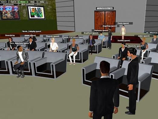 3DXplorer  From the French company Attadyn comes 3DXplorer, a browser-based, 3D platform that doesn't require a plug-in. It supports 100-plus avatars in a 3D conference call. And the enterprise edition delivers added security. 3DXplorer is targeted at virtual events and trade shows.