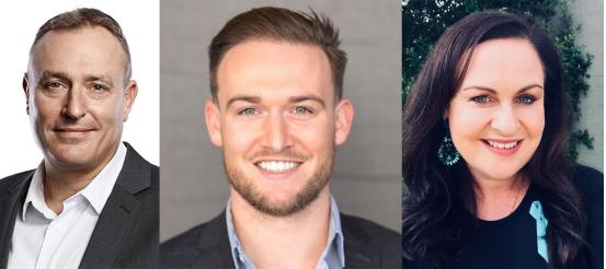 Chris Adams, Simon Greally and Ann-Marie Mulders join Year13 executive team