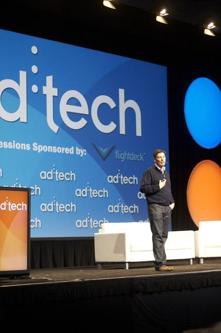 """AOL CEO Tim Armstrong, announcing the company's """"One"""" ad platform."""