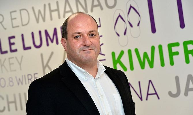 MYOB business division general manager James Scollay.