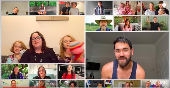 'I Am Australian' video, Credit: ABC