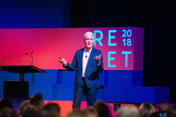 alastair herbert at the 2018 aana reset