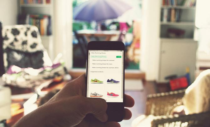 Booodl's local shopping app in action