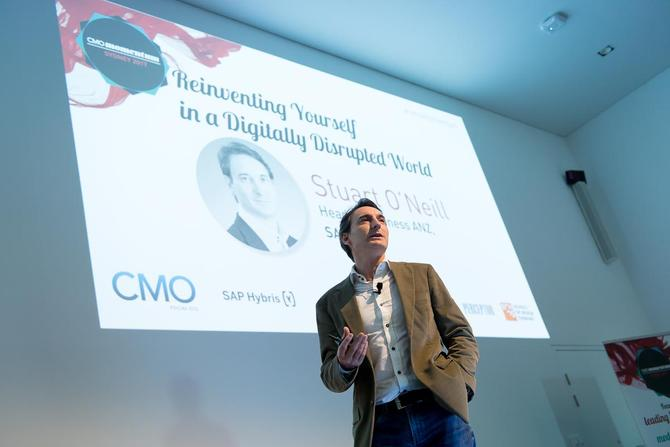Stuart O'Neill at the 2017 CMO Momentum conference