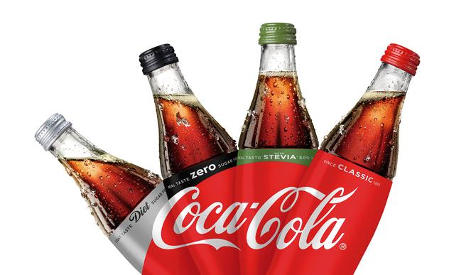 coca cola products and packaging across the range will be unified on shelves with one design from this month following the fmcg companys decision to bring