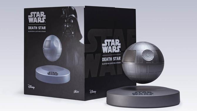 Death Star levitation speaker