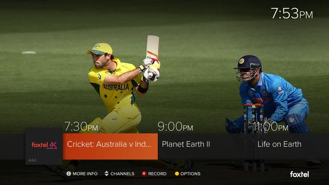 Foxtel unveils 4k live channel, heralds next era of TV - CMO Australia