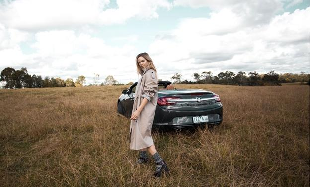 Holden ambassador model Alex Davis photographed by @OracleFoxBlog for the brand's sponsored Instagram campaign