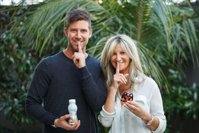 Slim Secret's Jamie and Sharon Thurin, mother and son team expanding business globally.