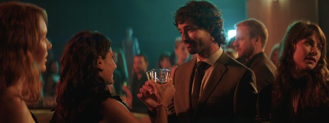 A still from the new Johnnie Walker TVC