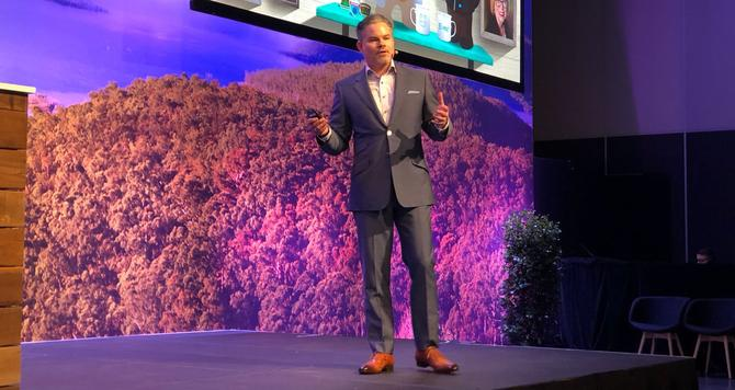 Jon Suarez-Davis at the Salesforce World Tour in Sydney