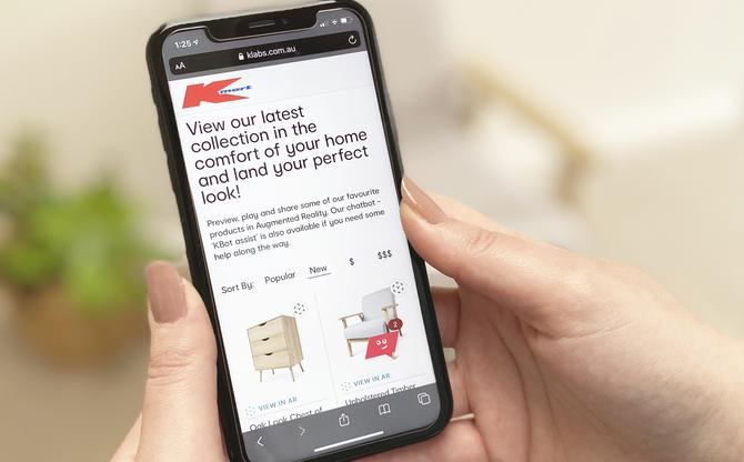 Kmart Releases Latest Furniture Products With Ar And Chatbot Retail Experience Cmo Australia