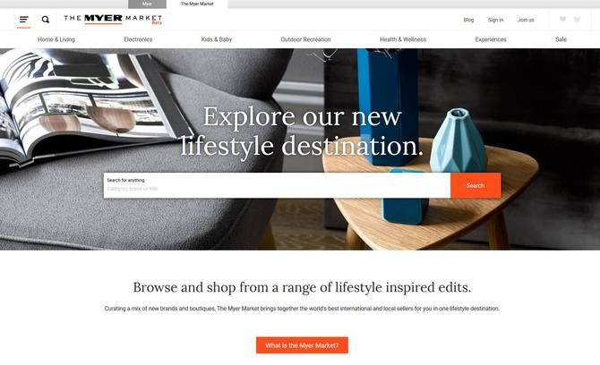0593654a885c9 Myer debuts online marketplace as Amazon threat looms - CMO Australia