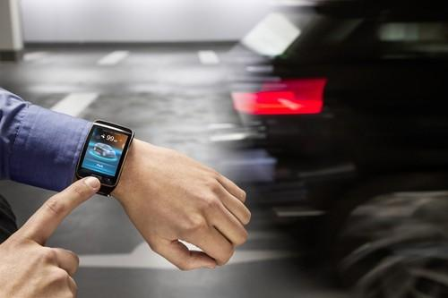 BMW will in let drivers park their cars in a multi-story by touching their smartwatch.
