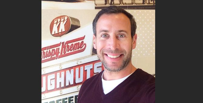 Russell Schulman, head of digital and ecommerce at Krispy Kreme Australia