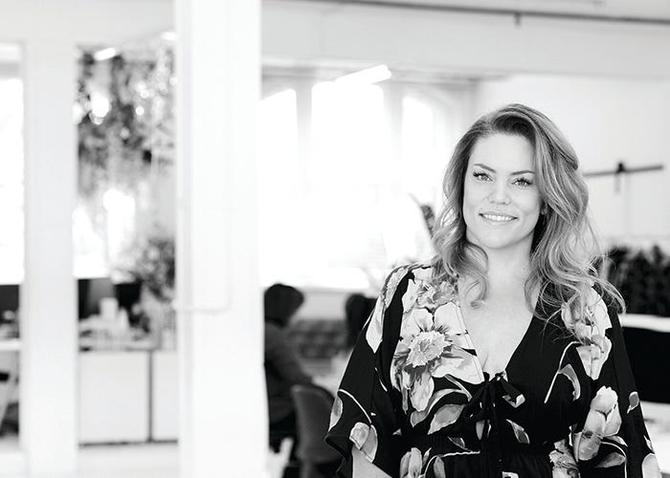 St Frock CEO and founder, Sandradee Makejev