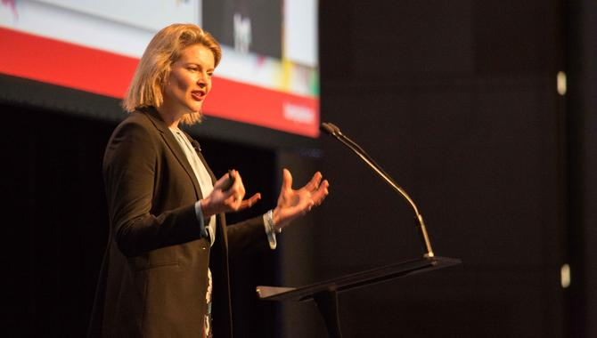 Vittoria Shortt at this year's ADMA Global Forum