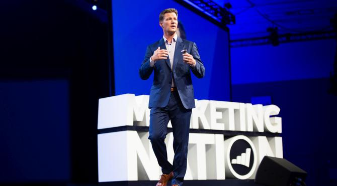Marketo CEO, Steve Lucas