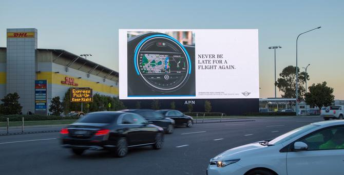 Updated Latest Mini Out Of Home Campaign Taps Contextual Data