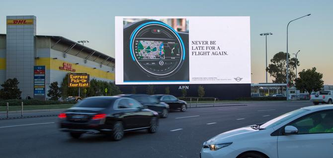 Mini's latest OOH campaign