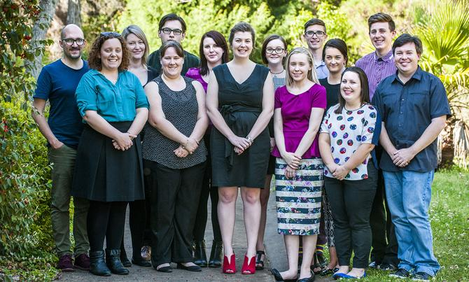 University of Southern Queensland's online marketing team