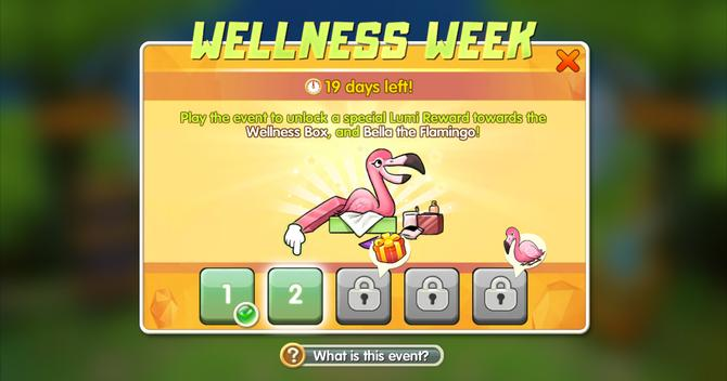 Screenshot of the bellabox flamingo in Critter Clash