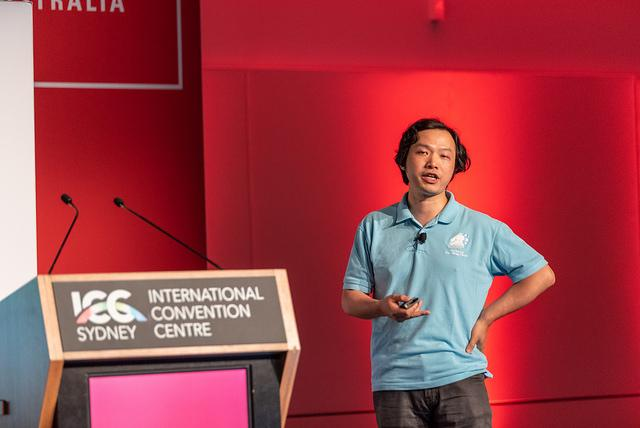 How alibaba is using ai to power the future of business cmo australia xiaofeng ren presents at cebit fandeluxe Images