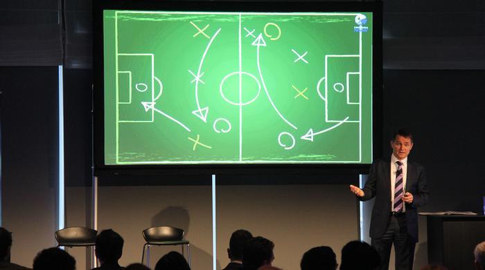 Football NSW CEO, Eddie Moore