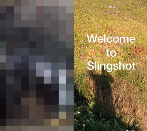 Facebook's Slingshot app for photo and video sharing.