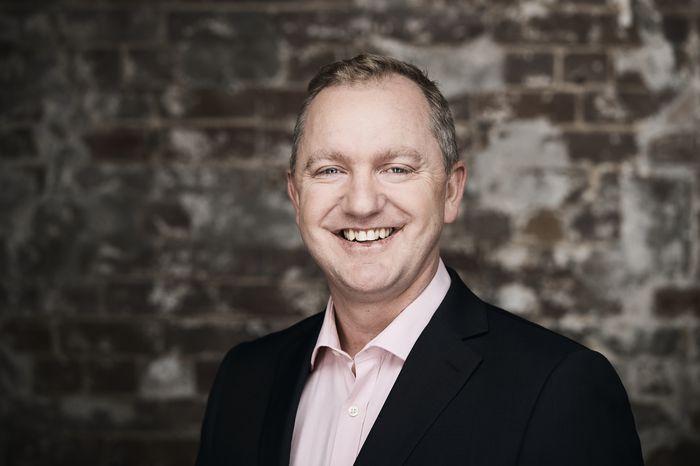 Nine's chief digital and marketing officer, Alex Parsons