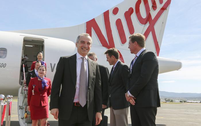 Virgin CEO, John Borghetti